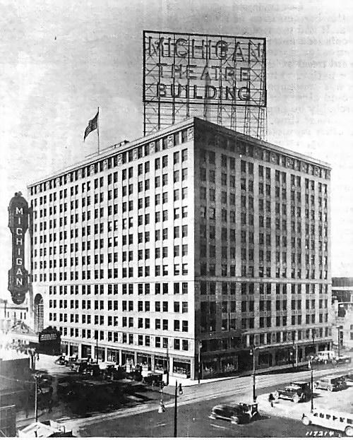 Fox Theater Mi: Requiem For The Michigan Theater In Detroit