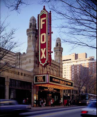 A History The Atlanta Fox Theatre Rebirth 1980 To Present Day